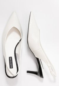 River Island - Escarpins - white - 3