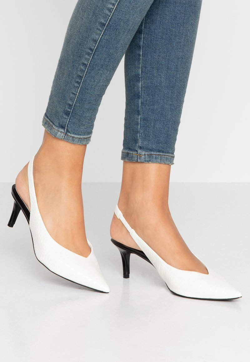 River Island - Escarpins - white