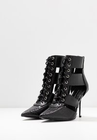 River Island - Bottines à talons hauts - black - 4