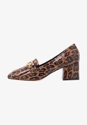 Classic heels - brown