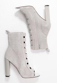 River Island - Kotníková obuv na vysokém podpatku - grey - 3
