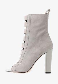 River Island - Kotníková obuv na vysokém podpatku - grey - 1