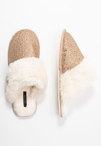 River Island - Slippers - gold - 3