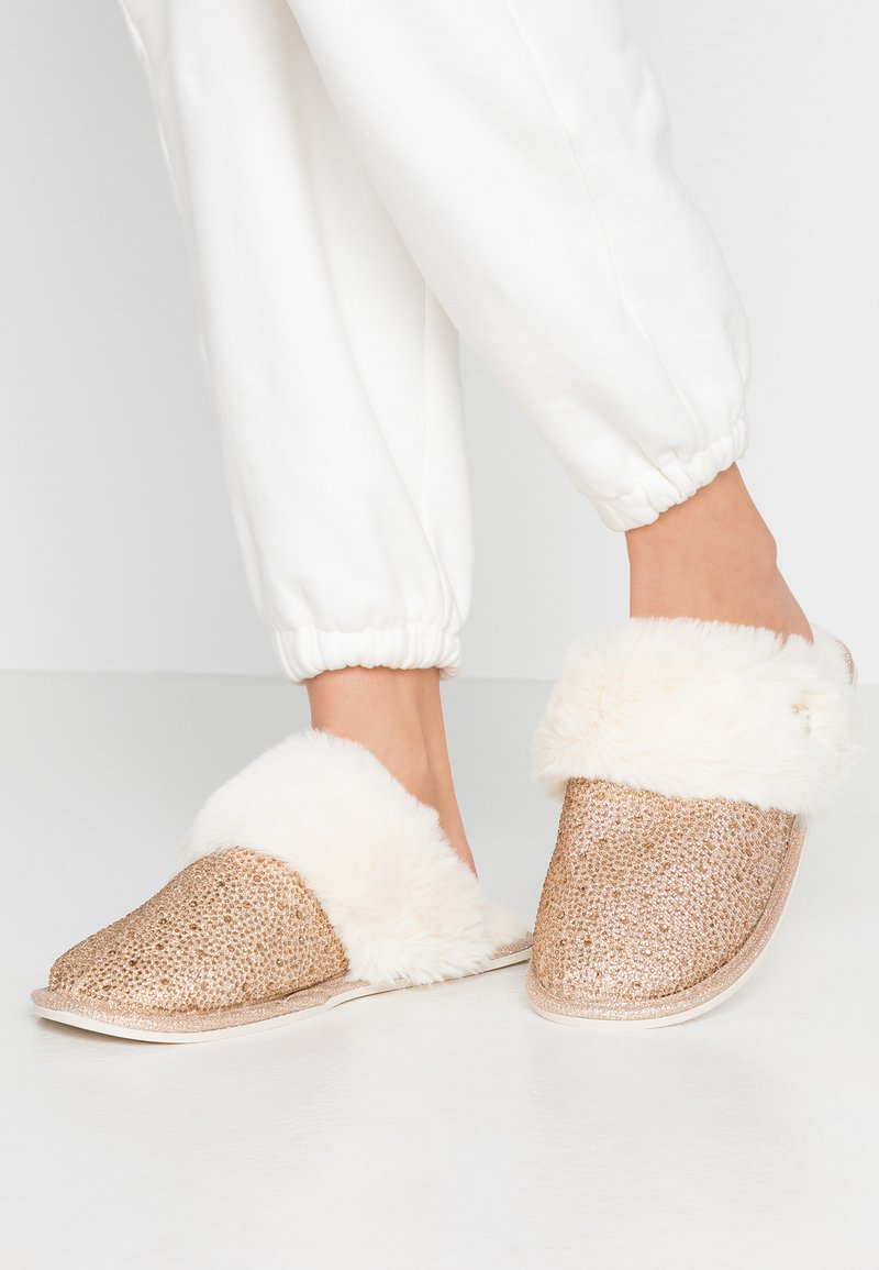 River Island - Slippers - gold