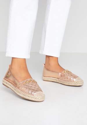 Loafers - rose gold