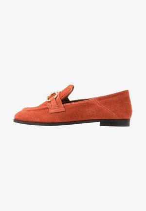 Loafers - orange