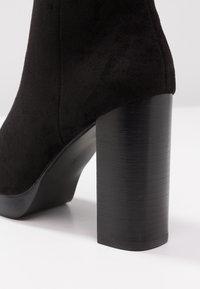River Island - Kotníková obuv na vysokém podpatku - black - 2