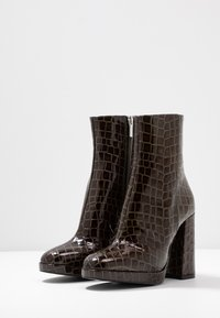River Island - High heeled ankle boots - green - 4