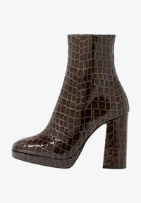 River Island - High heeled ankle boots - green - 1