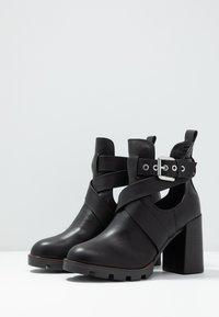 River Island - Kotníková obuv na vysokém podpatku - black - 4