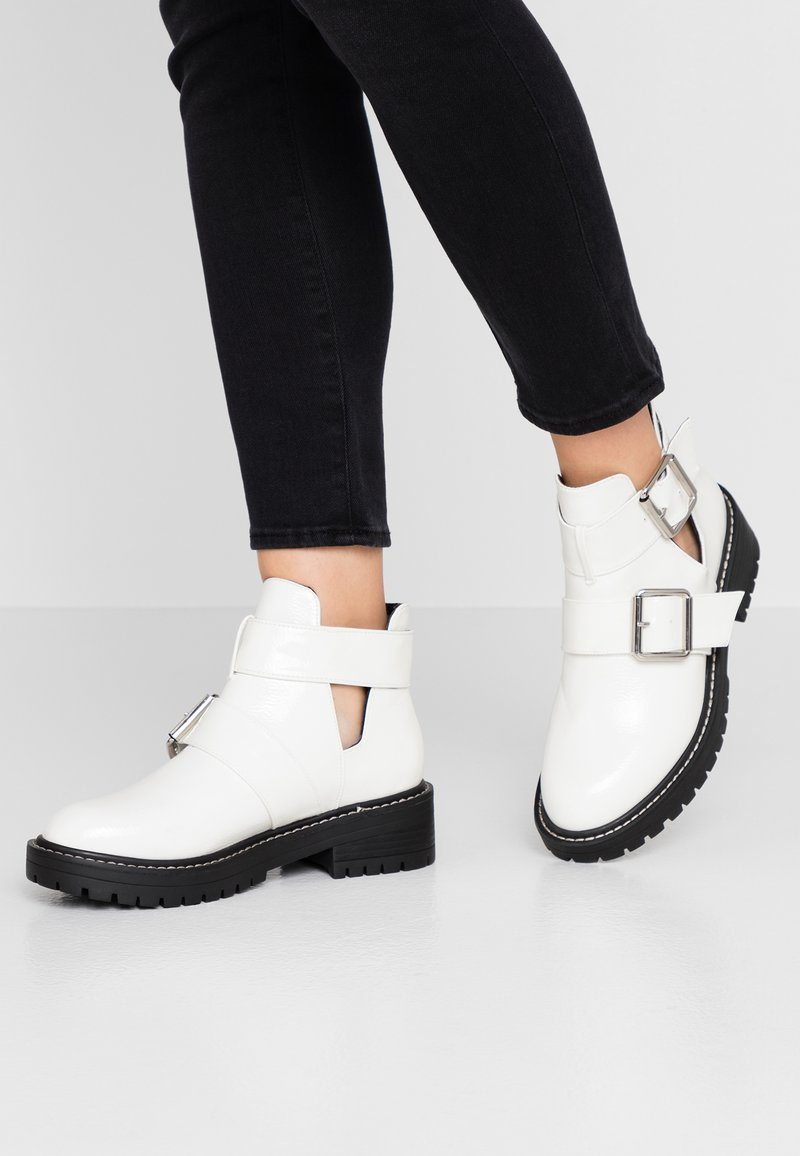 River Island - Classic ankle boots - white