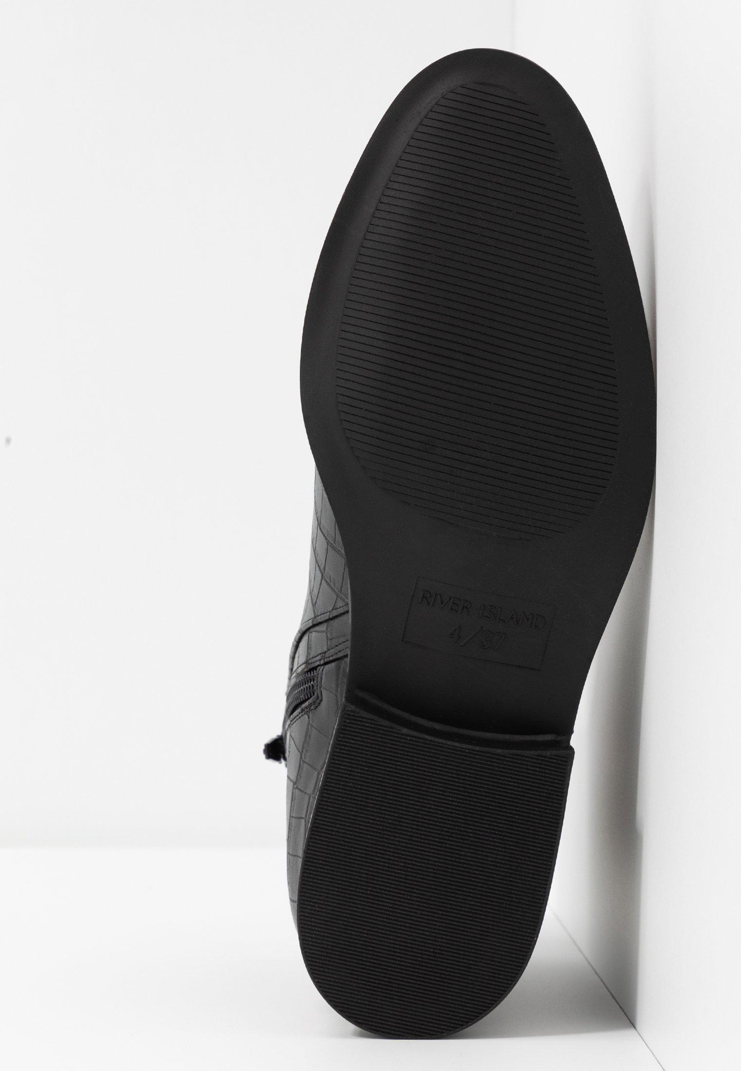 River Island Boots À Talons - Black