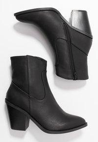 River Island - Kotníková obuv na vysokém podpatku - black - 3