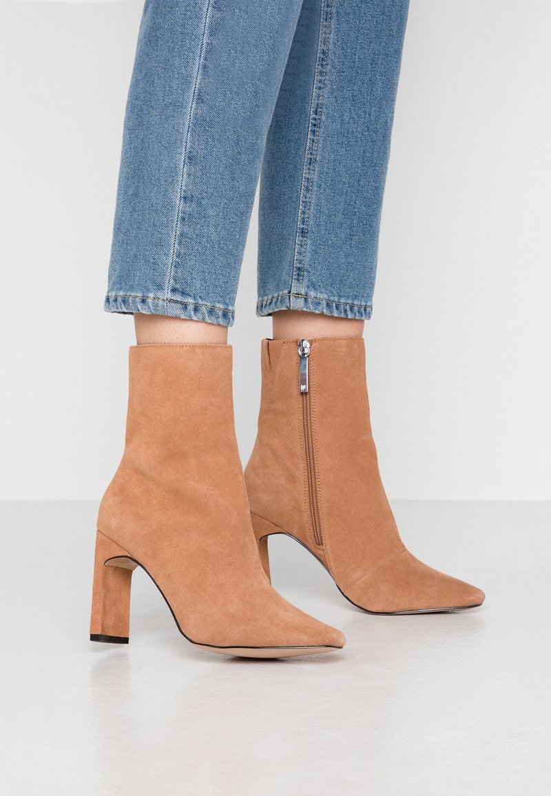 River Island - High heeled ankle boots - camel
