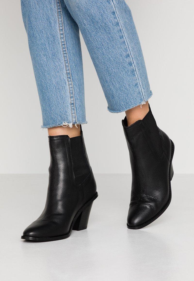 River Island - Kotníkové boty - black