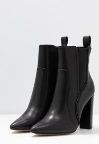 River Island - High heeled ankle boots - black - 4