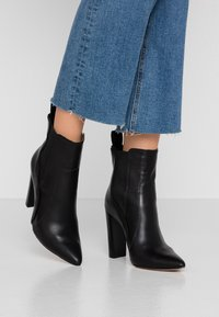 River Island - High heeled ankle boots - black - 0