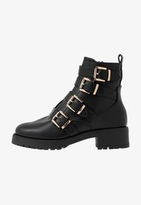 River Island - Cowboy/biker ankle boot - black - 1