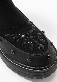 River Island - Platform ankle boots - black - 2