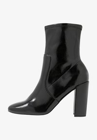 River Island - High heeled ankle boots - black bright - 1