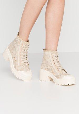 Boots à talons - cream