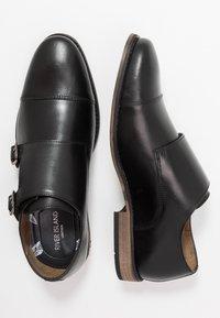 River Island - Elegantní nazouvací boty - black - 1