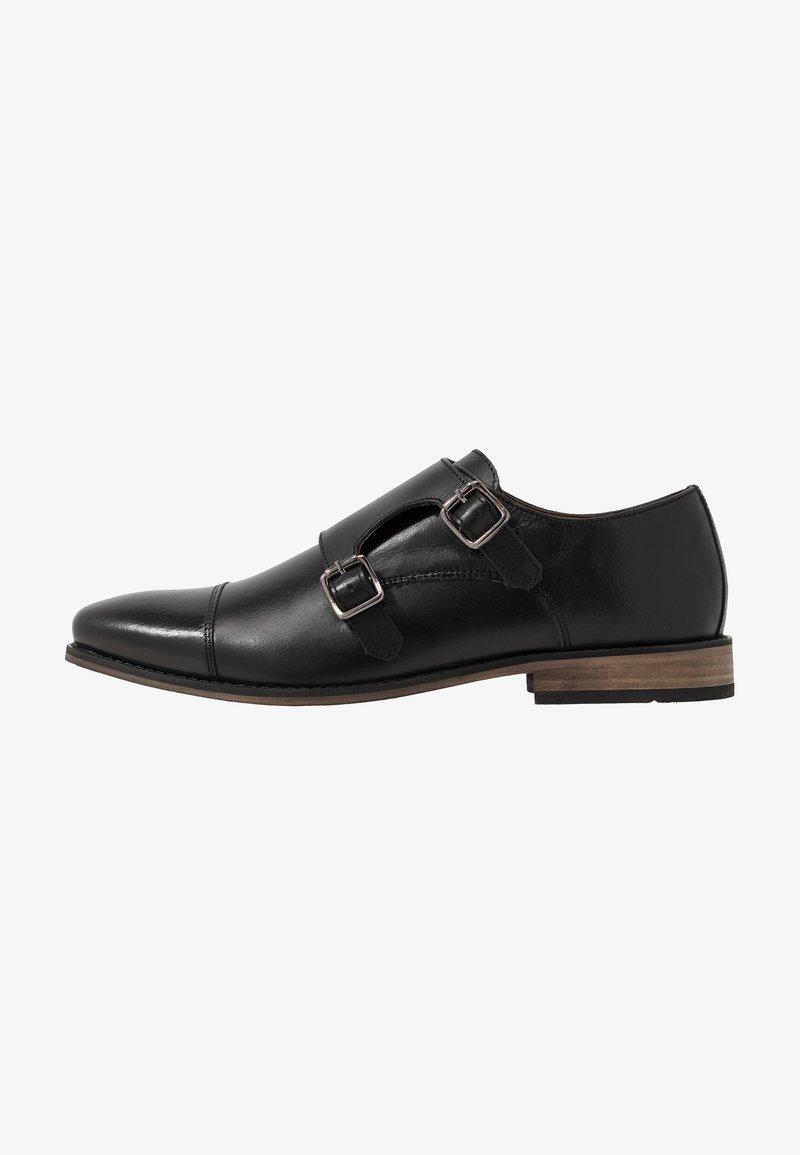 River Island - Elegantní nazouvací boty - black