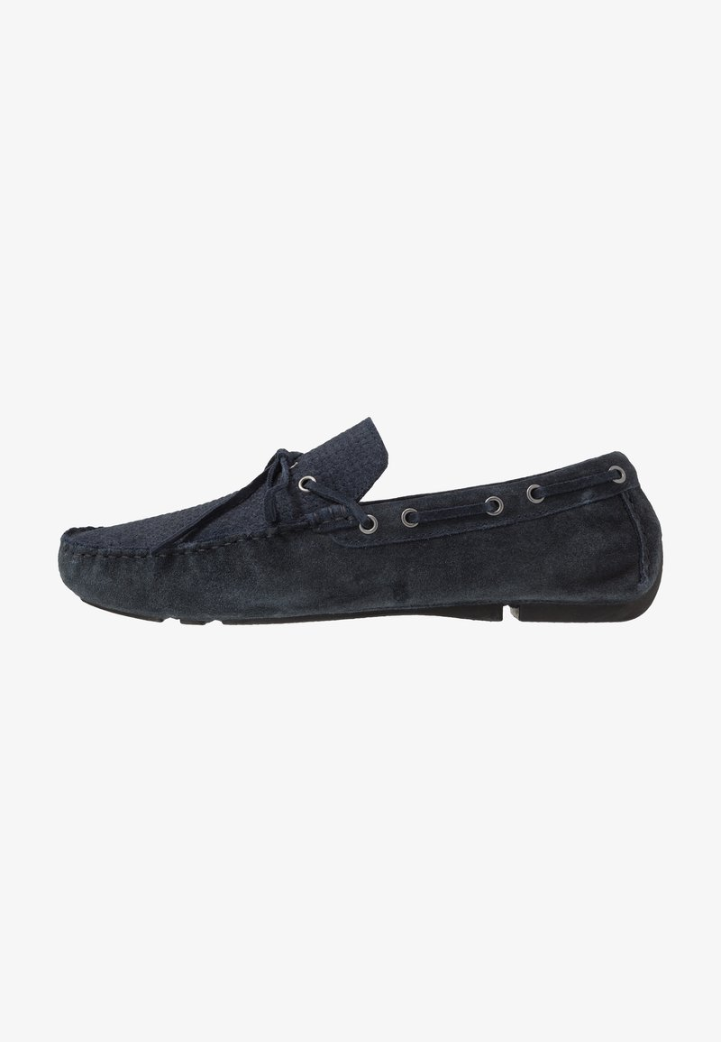 River Island - Moccasins - navy