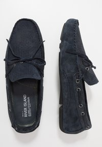 River Island - Moccasins - navy - 1