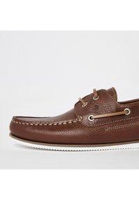 River Island - Chaussures bateau - brown - 4