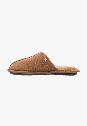 Pantuflas - mid brown