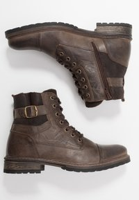 River Island - Lace-up ankle boots - dark brown - 1
