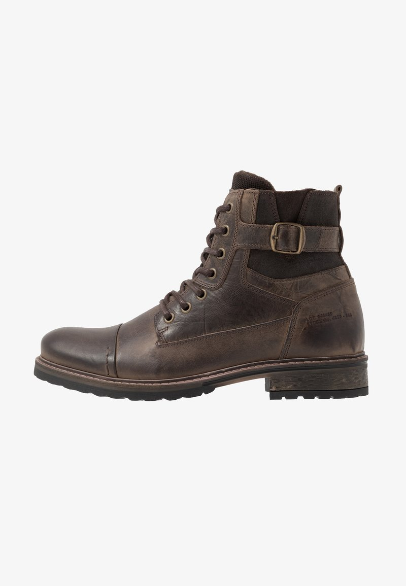 River Island - Lace-up ankle boots - dark brown