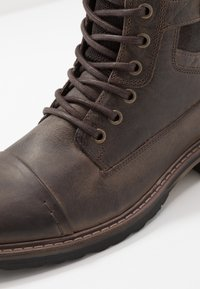 River Island - Lace-up ankle boots - dark brown - 5