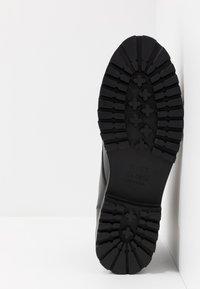 River Island - Šněrovací kotníkové boty - black - 4