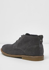 River Island - DESERT - Volnočasové šněrovací boty - grey - 3