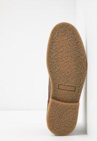 River Island - Zapatos con cordones - stone - 4