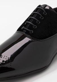 River Island - Elegantní šněrovací boty - black - 5