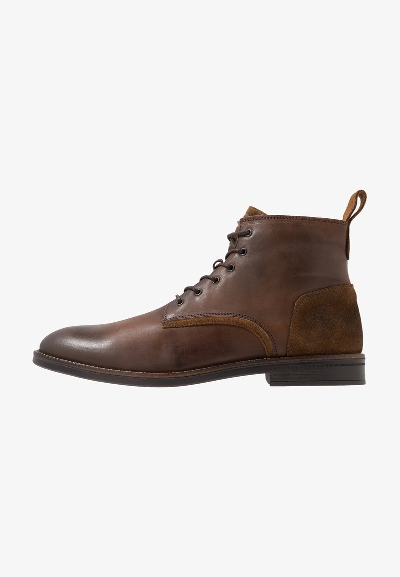 River Island - Lace-up ankle boots - brown