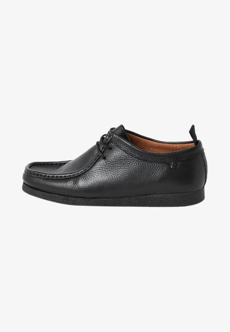 River Island - Zapatos con cordones - black