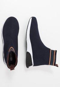 River Island - Höga sneakers - navy - 1