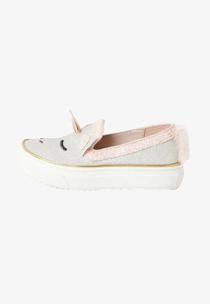 GLITTER UNICORN PLIMPSOLLS - Baskets basses - pink