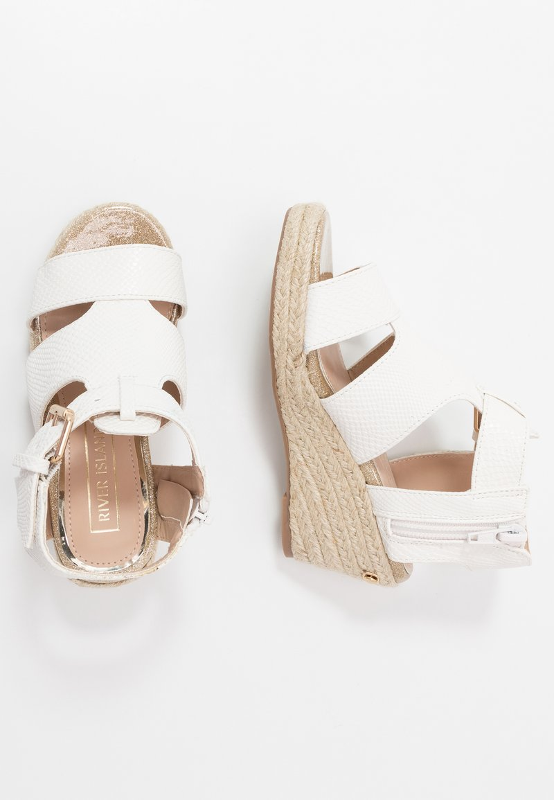 River Island - Sandály - white