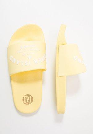 Sandały kąpielowe - yellow