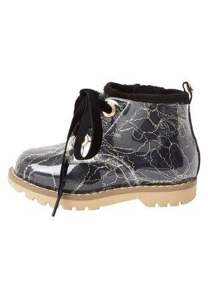 MINI GIRLS BLACK LACE HIKER BOOT - Bottines à lacets - black