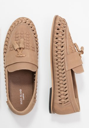 Slippers - light tan