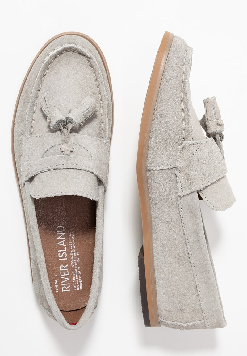 River Island - Loaferit/pistokkaat - light grey