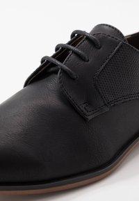 River Island - Zapatos de vestir - black - 2