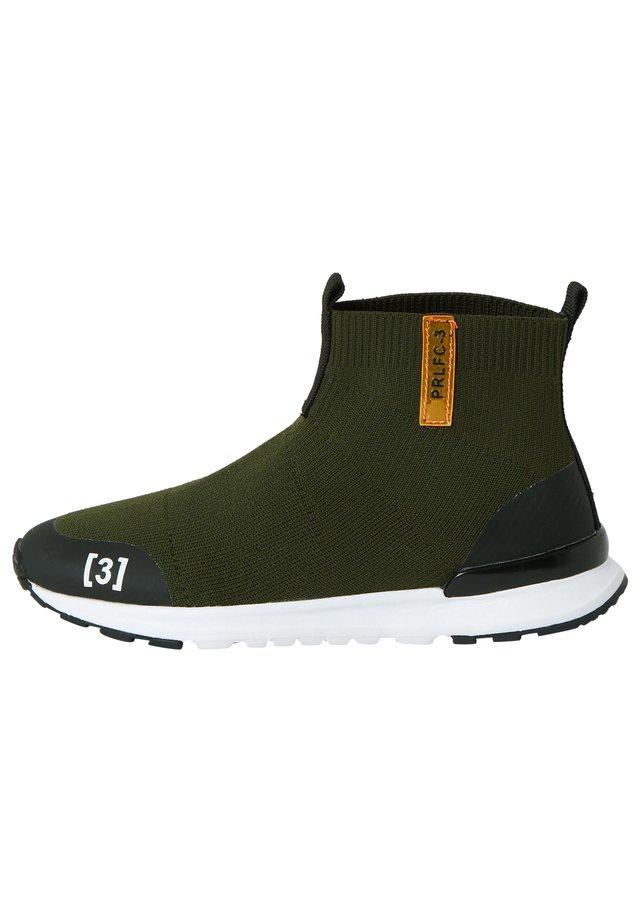Höga sneakers - khaki