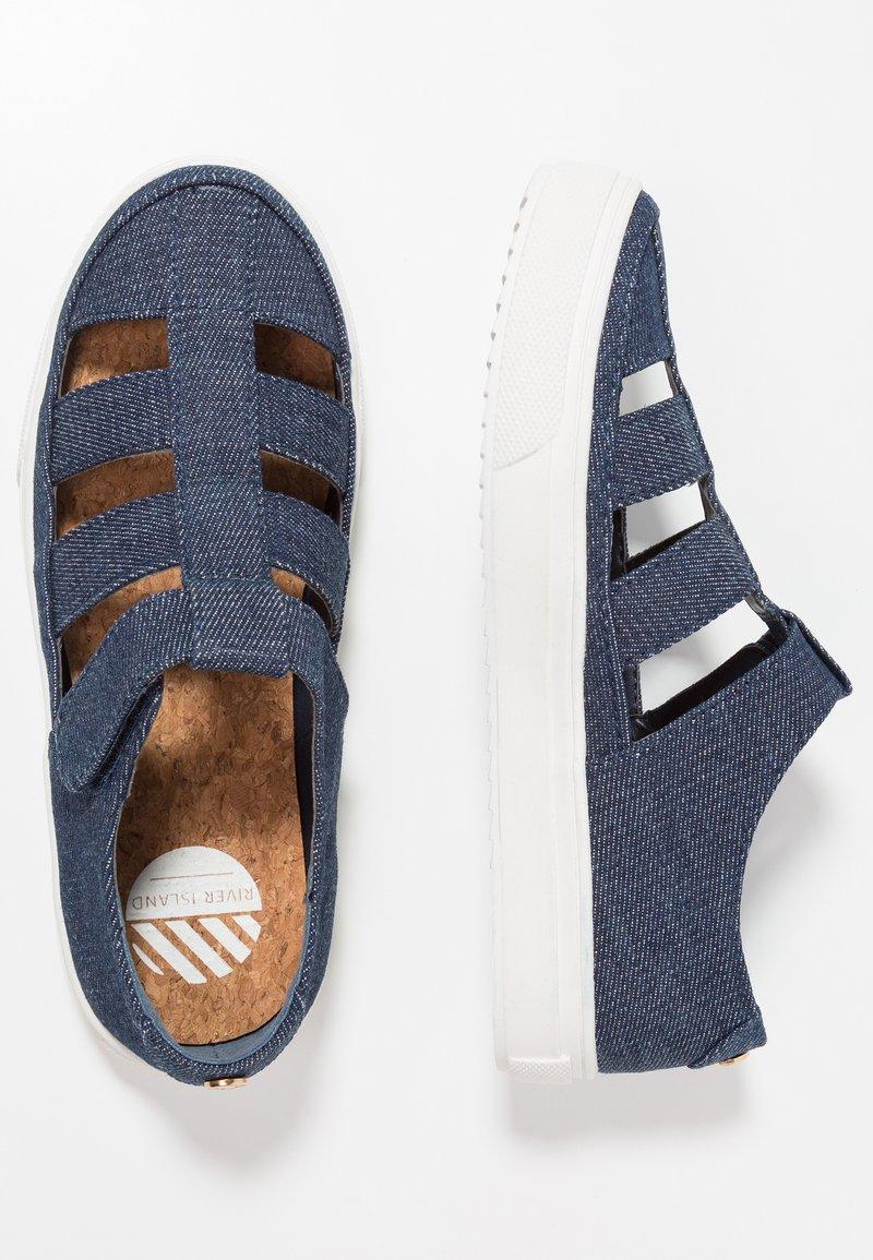 River Island - Sneakers laag - denim